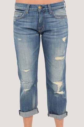 Current Elliott Boyfriend Jean in Super Loved Destroy - Boyfriend Jeans