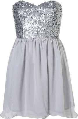 Sequin Babydoll Dress by Rare** - Gifts for the Girly Taylor Swift Gal