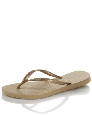 Havaianas Metallic Flip Flop - Sandals