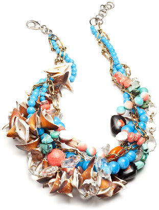 Paradis - Beaded Collar Necklace
