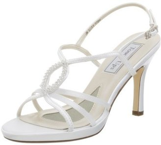 Touch Ups Women&#39;s Logan Dyeable Sandal - Bridesmaid Shoes