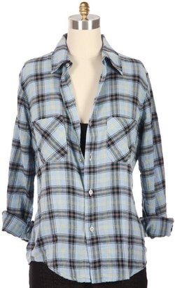 AMERICAN COLORS Summer Plaid Button Down Shirt - Plaid Button-Down Shirts 