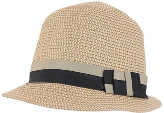 Striped Woven Hat - Hats