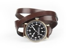 Men&#39;s Triple Wrap Leather  Watch - Burberry