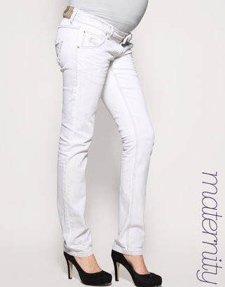 Mama.Licious Slim Jeans - Pregnant Style