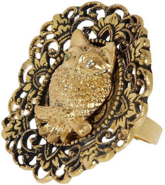 Med-owl-ian Ring - Jewelry