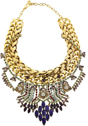 Dannijo Omala antique gold-plated necklace - Jewelry