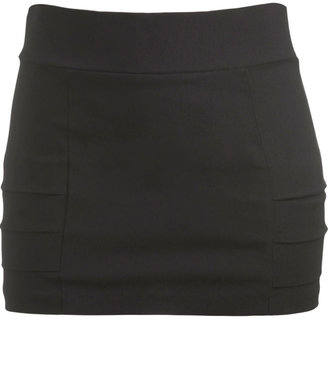 Side Pleat Mini Skirt - Dress Like Demi Lovato