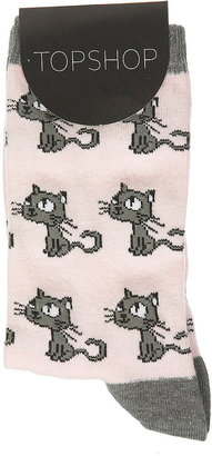 Cute Cat Ankle Socks - Pajamas & Intimates