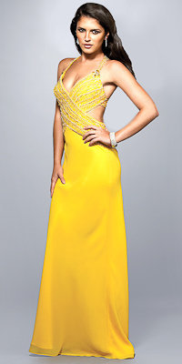 Sexy Yellow Evening Dresses from Nika - eDressMe