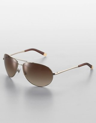 Dkny Wrap-Style Metal Aviator Sunglasses - DKNY