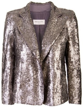 DRIES VAN NOTEN - Sequin blazer - Happy 21st Birthday Outfits