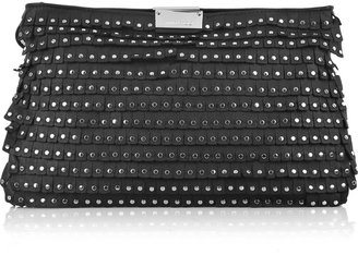 Jimmy Choo Zulu studded leather clutch - Handbags
