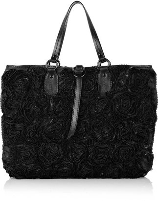 Valentino Shining Roses tote - Dress Like Jenny Humphrey