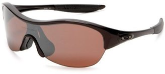 Oakley Women's Enduring Iridium Polarized Sunglasses - Athletic Shield Sunglasses