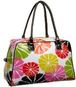Tepper Jackson Carry All - Flower Print Handbags