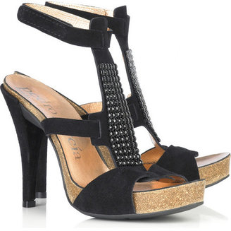 Pedro Garcia Priscilla suede sandals - Platform Sandals