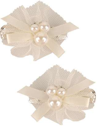 Pearlescent Mesh Hair Clips - Claw Clip