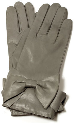 Imoni Perfect bow grey gloves - Imoni