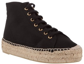 RALPH LAUREN - Nylon espadrille sneakers - Casual Shoes