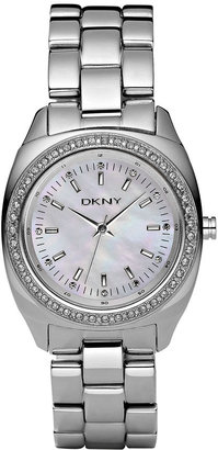 DKNY Round Stainless Steel Bracelet Watch - Stunning Silver Watches