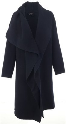 LANVIN - Waterfall draped coat - Dress Like Mary-Kate Olsen