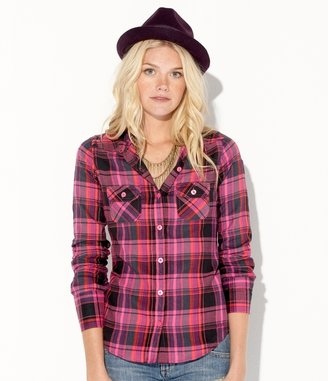 Make It Happen Top - Flannel Shirt
