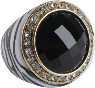 Zebra Faceted Ring - Decorative Rings