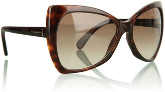 Tom Ford Brown Nico Sunglasses - Selita Ebanks&#39; Designer Faves