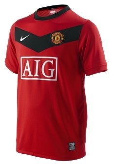 Manchester United Official Home Boys' Soccer Jersey - Manchester United Fan T-Shirts