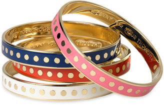 Kate Spade Enamel Dot Bangle - Kate Spade Bangles