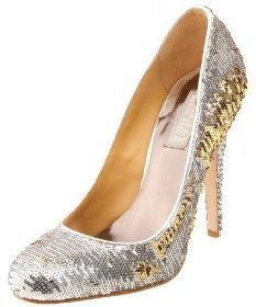 Badgley Mischka Platinum Women&#39;s Hart Pump - Heels