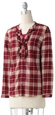 Sonoma life + style plaid shirt set - Kohl&#39;s