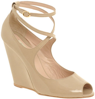 Reiss Azura Ankle Strap Wedge - Reiss