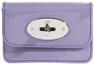 Mulberry Lavender Patent Small Purse - Mulberry
