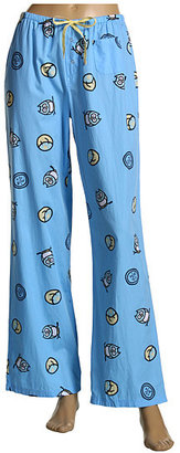 Life is good - Lounge Pants (Blue Jeans/Owl/Dream Collage) - Pajamas & Intimates