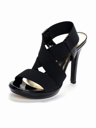 Shoebox Strappy Pump - Heels
