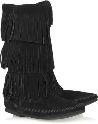 Minnetonka Calf Hi moccasin boots - Moccasins
