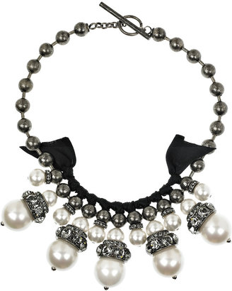 Lanvin Oversized glass-pearl necklace -  Luxurious Lanvin Jewelry