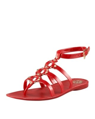 Tory Burch Vaughn Jelly Gladiator - Sandals