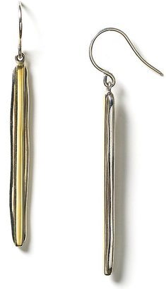 Elizabeth and James Sterling Silver Bar Drop Earrings - Elizabeth and James
