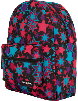 YAK PAK Black Star Fireworks Backpack - Handbags