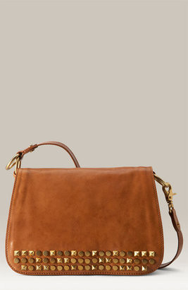 Tory Burch &#39;Linden  Desert&#39; Leather Shoulder Bag - Tory Burch