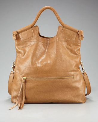 Foley + Corinna Mid City Fold-Over Tote, Tan - Handbags