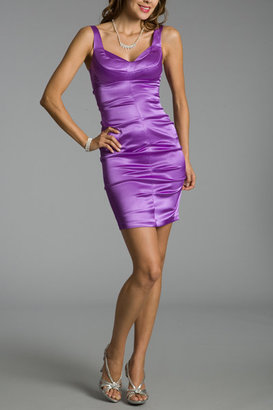 Gilmore- Purple Short Prom Dresses - Clothes