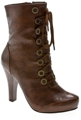 Restricted Scout Lace Up Platform Boot - Shoes