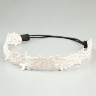 FULL TILT Crochet Flower Headband - Full Tilt