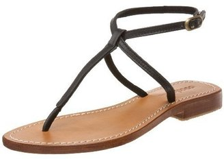 Cocobelle Women&#39;s Simple Leather Thong - Thong Sandals