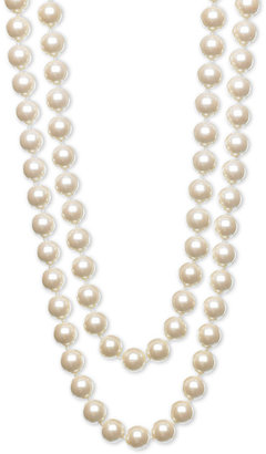 Nordstrom 10mm Glass Pearl Extra Long Strand Necklace - Layered Pearl Necklace