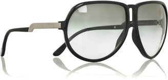 Stella McCartney Acetate aviator sunglasses - Aviator Sunglasses
